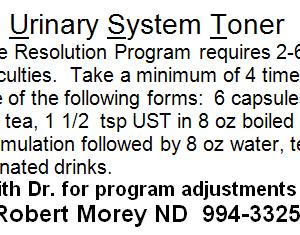 UrinarySystemToner